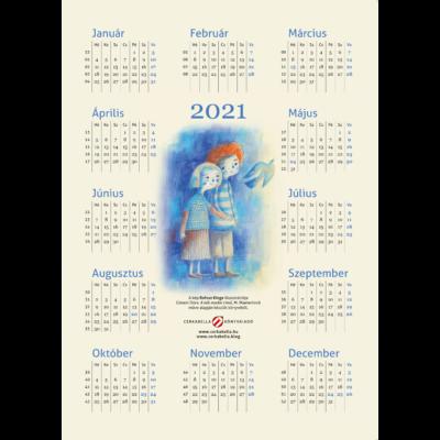 Naptár Rofusz Kinga rajzával – 2021