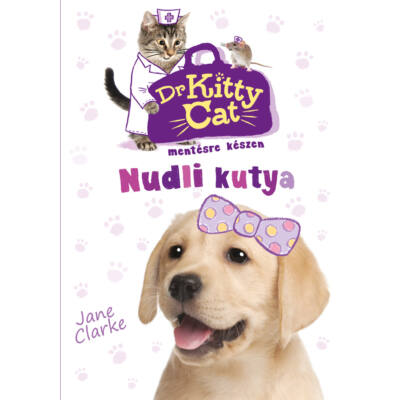 Dr KittyCat mentésre készen- Nudli kutya